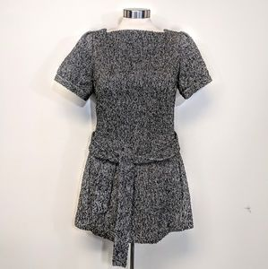 Jennifer Lopez Tweed Mini Dress